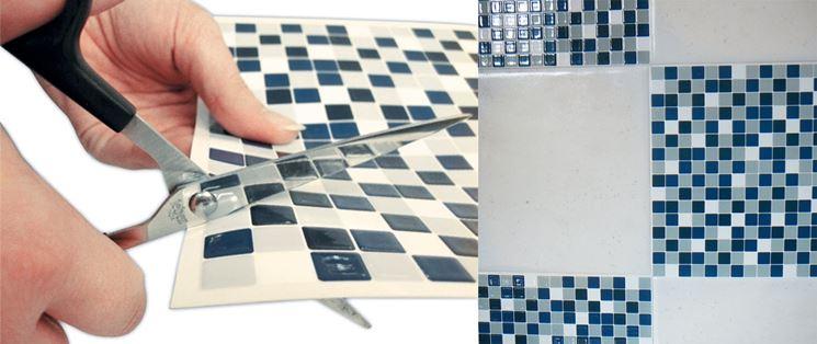 Mattonella adesiva a mosaico