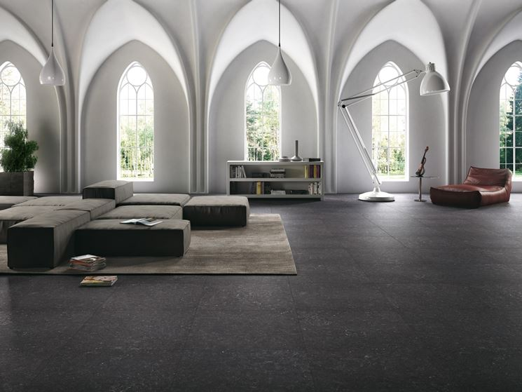 pavimento in gres porcellanato