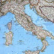 Una mappa dell'Italia