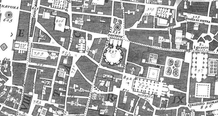 Mappa del territorio comunale