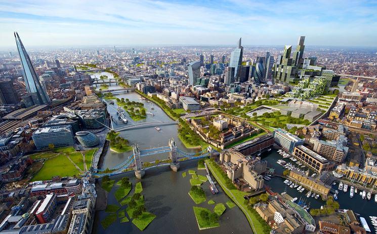 Diversificazione zone urbane