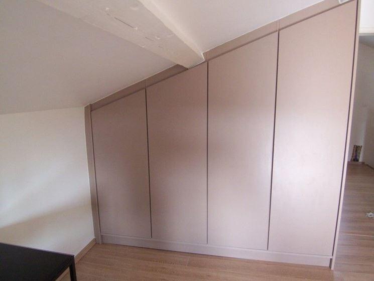 Costruire un armadio a muro arredamento come for Costo per costruire un armadio in una camera da letto