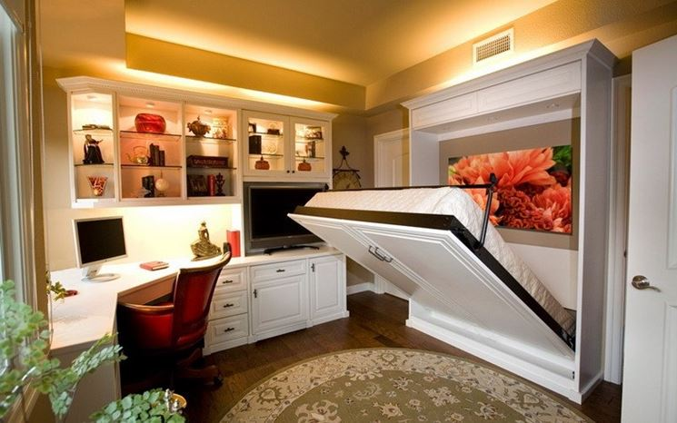 letto matrimoniale divano trasformabile mobili arredamento