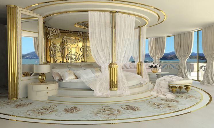 Lussuoso letto