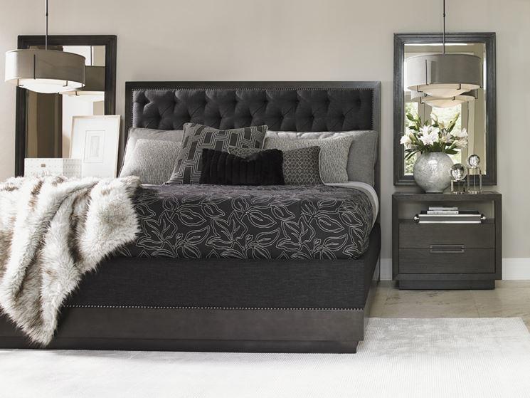 Moderno letto imbottito