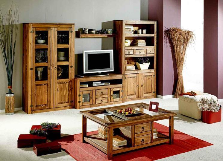 Mobili in legno   arredamento   caratteristiche mobili in legnoi