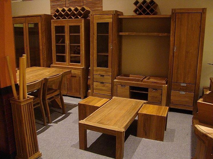 mobili in legno arredamento caratteristiche mobili in