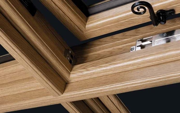 Finestra legno
