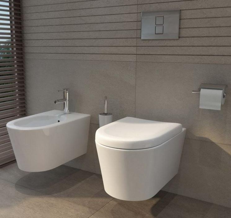 Moderno sedile wc
