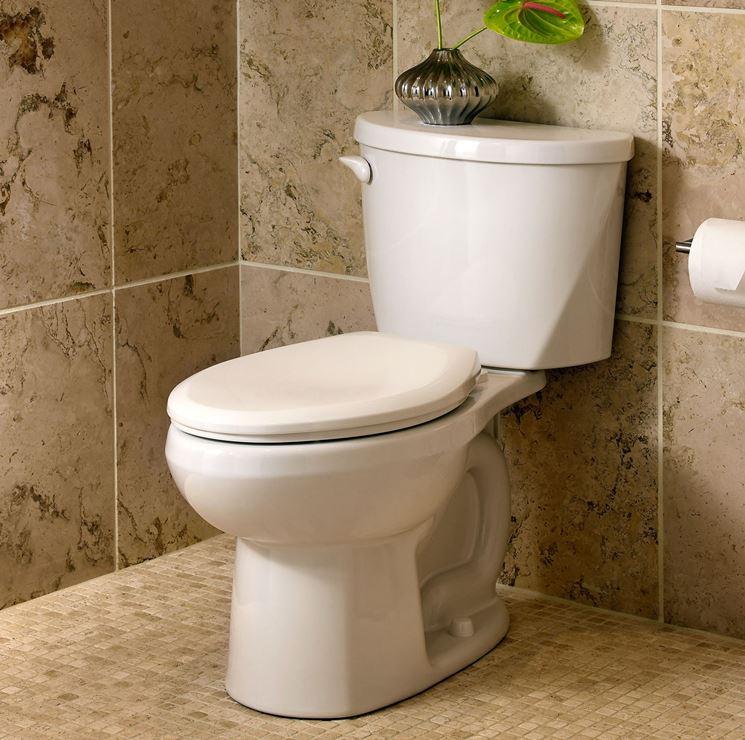 Sedile wc bianco classico