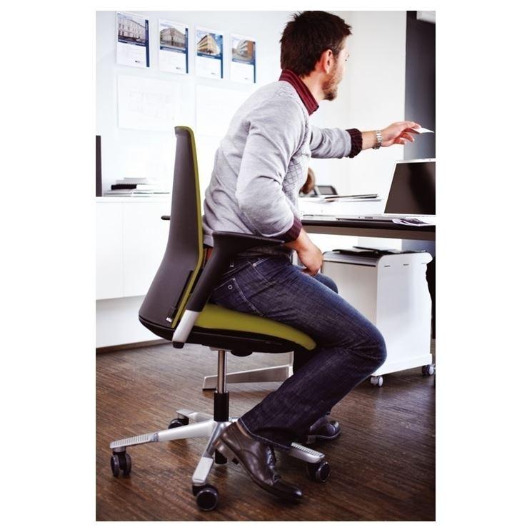 Sedia ergonomica per ambienti di lavoro