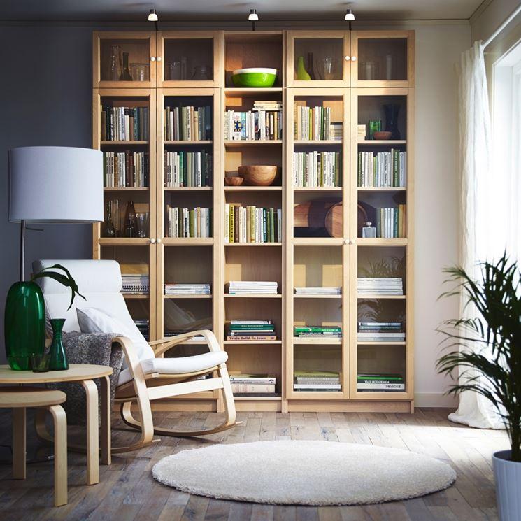 angolo lettura realizzato in casa