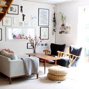 Antico e moderno in salotto