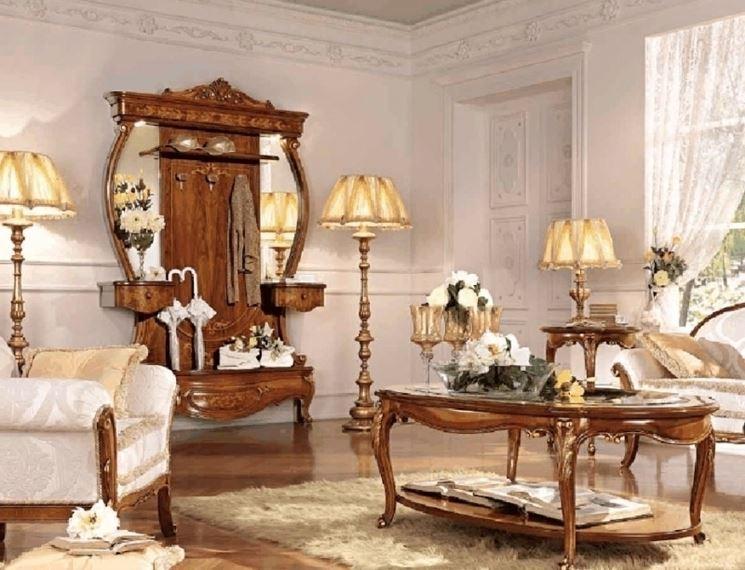Arredamento barocco salotto
