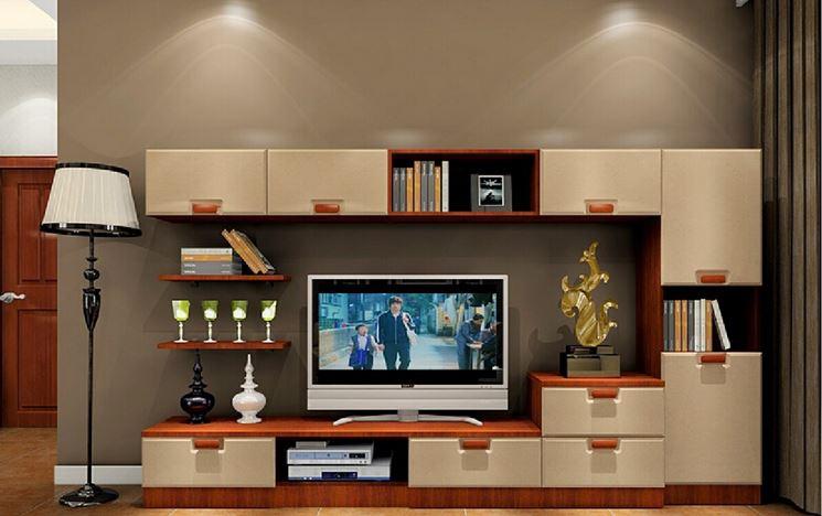 Living room e parete attrezzata