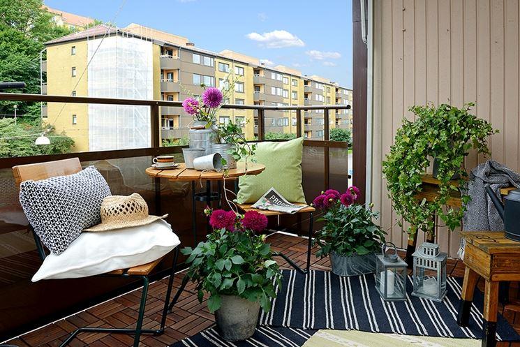 Arredare il terrazzo arredare casa consigli per l for Mobili per il terrazzo
