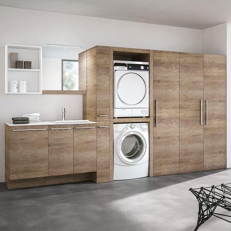 Arredamento misura lavanderia casa