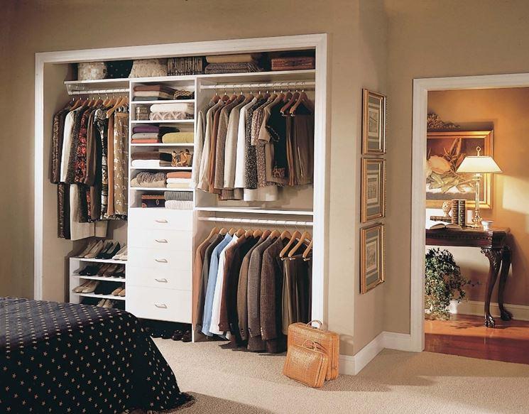 Cabina armadio fai da te arredare casa armadio muro - Arredare una cabina armadio ...