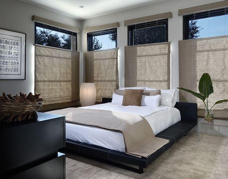 Idea per una rilassante stanza da letto 'zen'