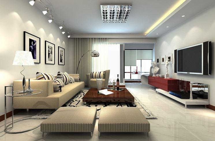 Una sala ampia e confortevole