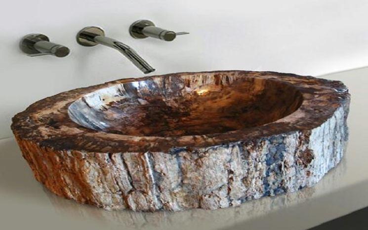Lavandino bagno ecologico