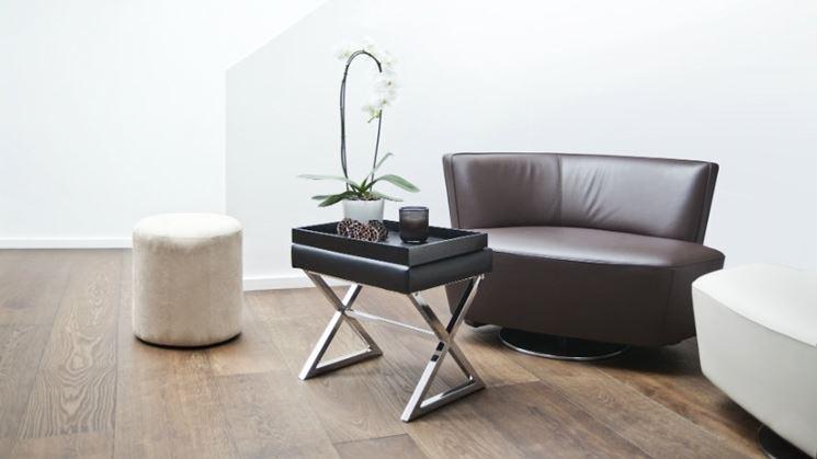 Piccolo divano angolare in ecopelle - Dalani