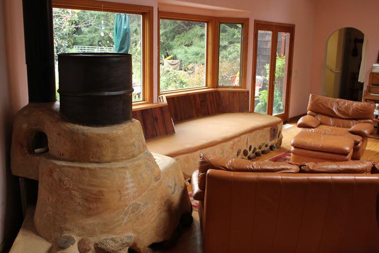 Salotto montagna divano