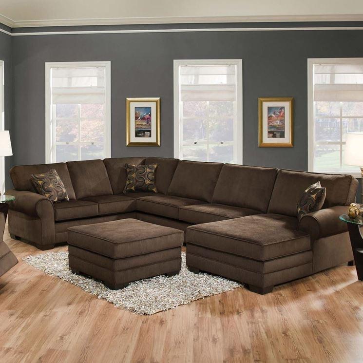 Divano modulare soggiorno