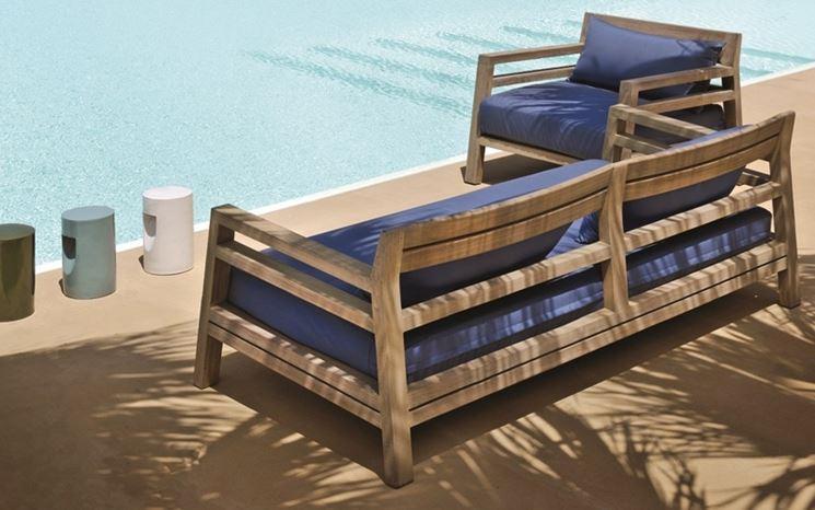 divano da giardino divani tipologie di divani da giardino