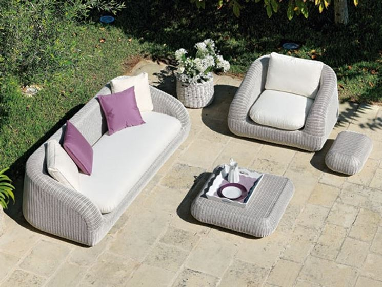 divano da giardino Ethimo