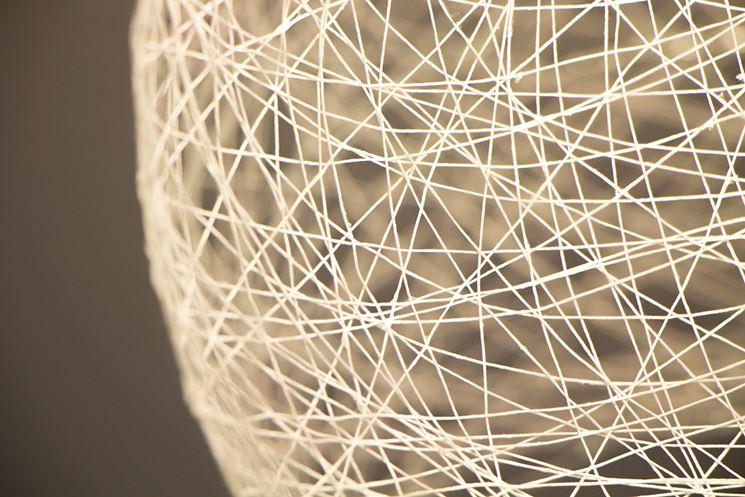 Costruire una lampada con fili