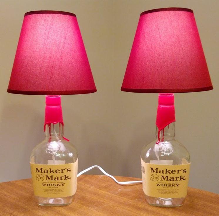 Lampade-bottiglia