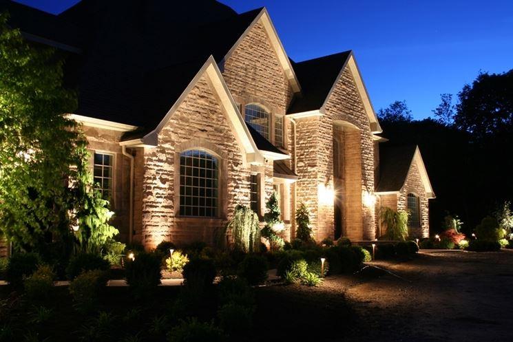 Faretti led da esterno lampade per casa illuminazione led esterno