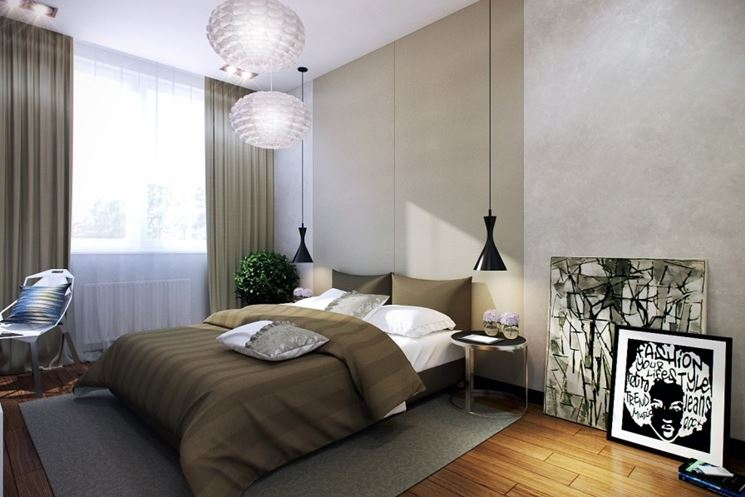 Beautiful Illuminazione Per Camera Da Letto Images - Design Trends ...