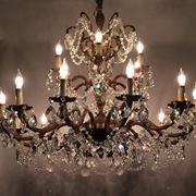 lampadario a gocce stile classico