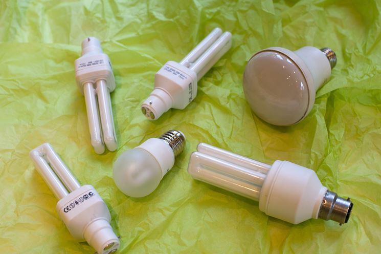 Le lampade a basso consumo