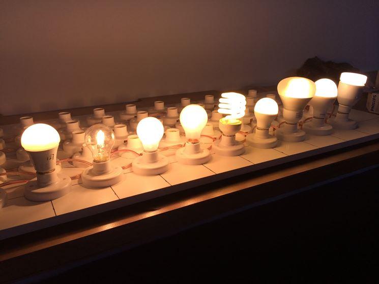 Esposizione modelli lampade