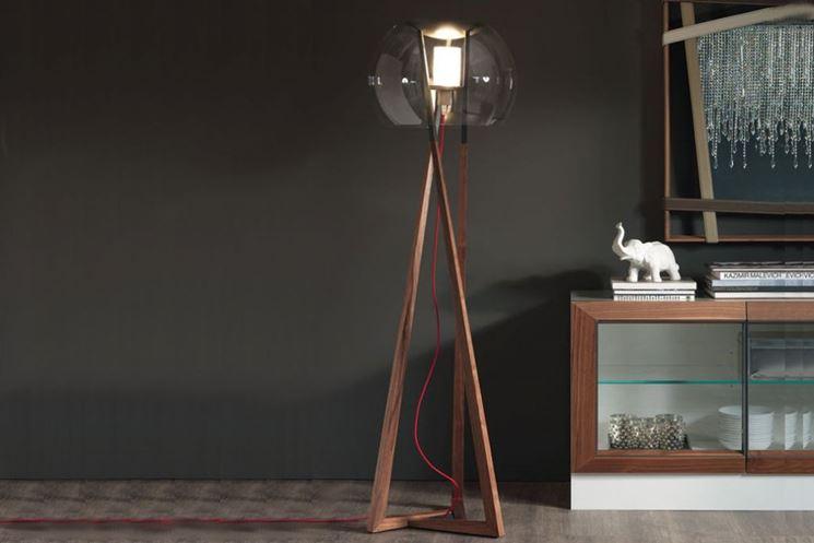 Lampade da terra lampade per casa tipologie e modelli for Lampada terra ikea