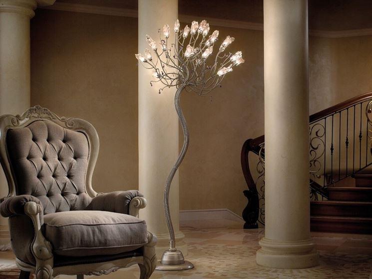 Lampade da terra lampade per casa tipologie e modelli for Lampade per casa