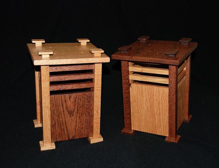 Lampade in legno realizzate con il fai da te