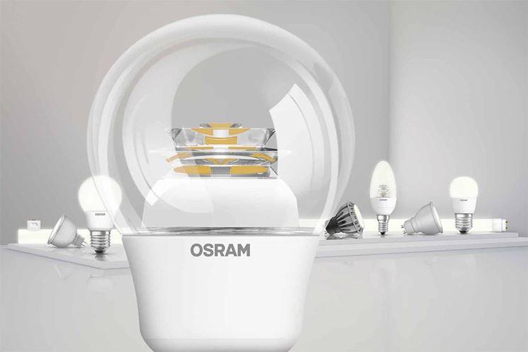 Lampadine osram lampade per casa caratteristiche delle for Lampade a led casa