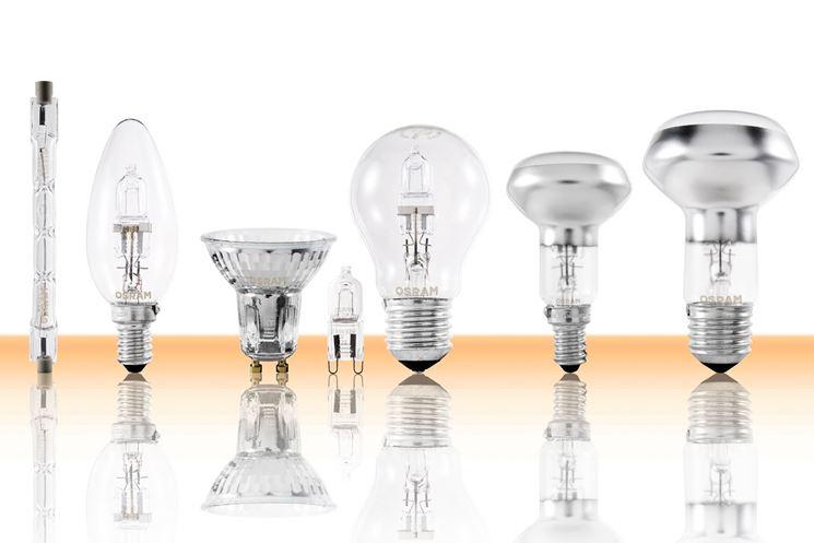 Campionario lampadine Osram alogene