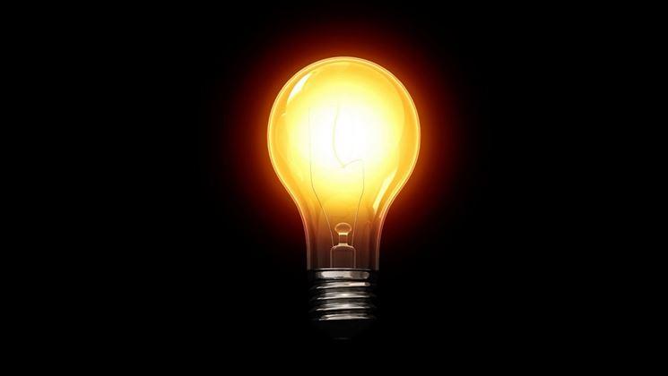 La vecchia lampadina a incandescenza