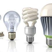 Diverse lampadine a confronto
