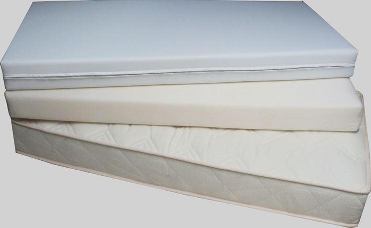 Diversi tipi di materasso