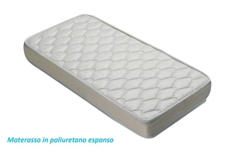 Materasso per lettino in poliuretano espanso