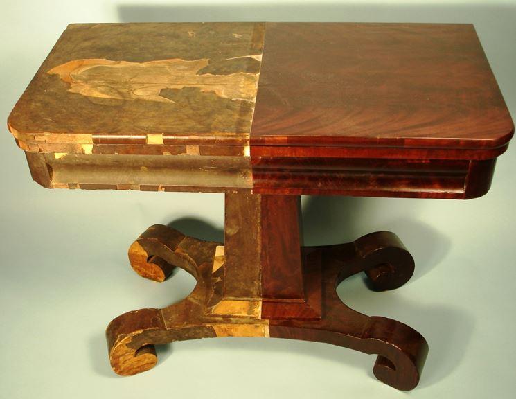 Esempio di restauro mobili
