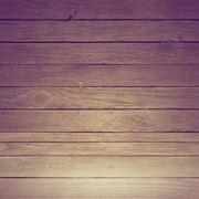 Pavimento di assi di legno