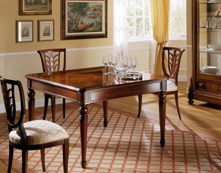 Gambe per tavoli in legno Tavoli Tipi di gambe per
