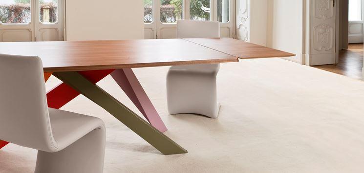 Tavolo allungabile ovale della serie Stockholm di Chrysties